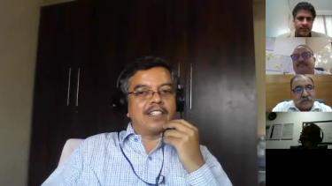 Manoj Badave   Senior Manager Plant Engineering, Tata Motors Ltd. Pune @ VAMRR Remote Productivity Summit